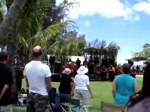 Order of King Kamehameha I singing Hawaii Kingdom anthem