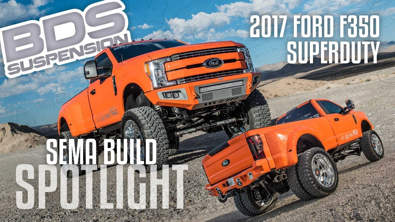 Sema Build Spotlight F350 By Rlc Motorsports Youtube
