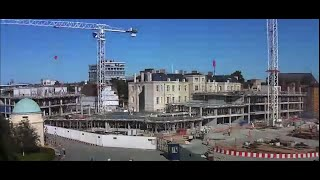 Andrew Wiles Building - 2-year timelapse