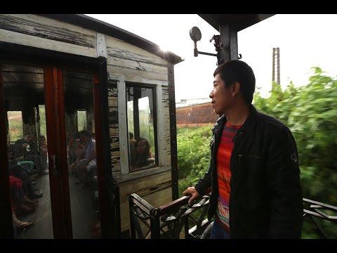 Old train in Da Lat - Xe lửa cổ ở Đà Lạt