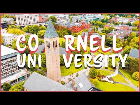 Cornell University Campus Tour🌳(the Most Beautiful College Campus)