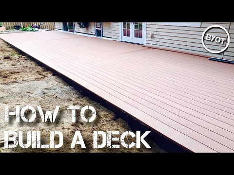 HOW TO BUILD A DECK : START TO FINISH (Part 2 of 2)
