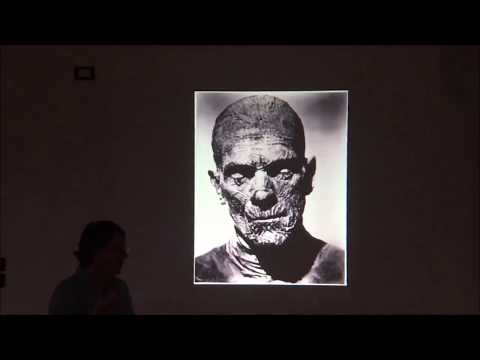 Studying Egyptian coffins from Luxor by Dr.Helen Strudwick