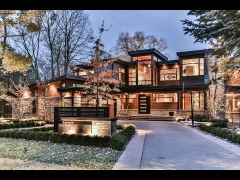 Unique Contemporary Custom Build House Oakville | Virtual Tour