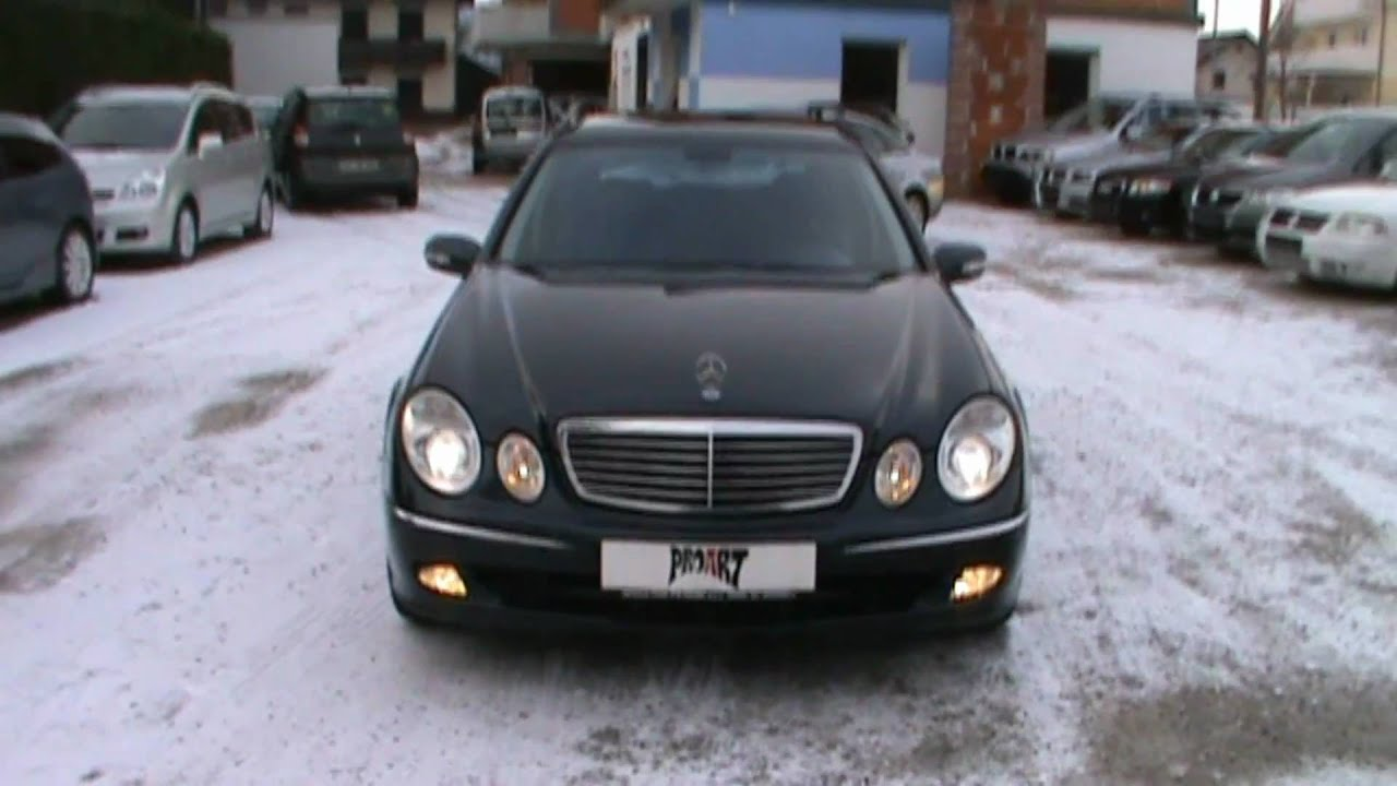 2005 mercedes e270 cdi avantgarde full review,start up, engine