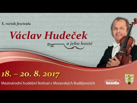 Václav Hudeček ... tisková konference ... 31. července 2017