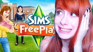 JOGANDO THE SIMS FREEPLAY PELA PRIMEIRA VEZ! screenshot 1