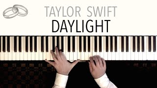Taylor Swift - DAYLIGHT | Peaceful Piano Cover (featuring J.S. Bach's 'Prelude in C') Video