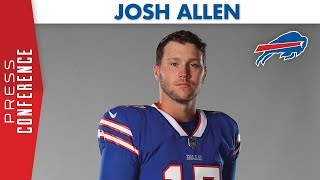Bills qb josh allen spoke to the media on monday, august 3rd. topics included: confidence in safety protocols, why he decided opt-in this season, and adju...