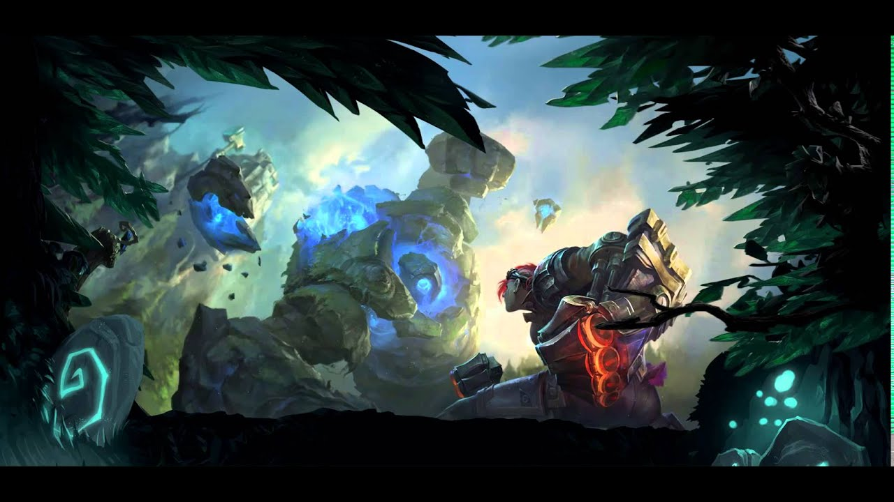 Summoner S Rift Vu Blue Vs Vi Dreamscene Hd Wallpaper
