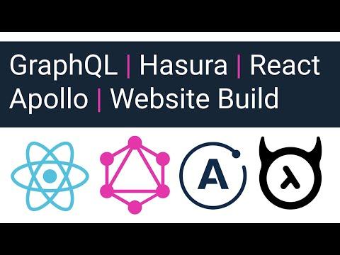 Hasura, GraphQL, React, Apollo Tutorial - Part 1