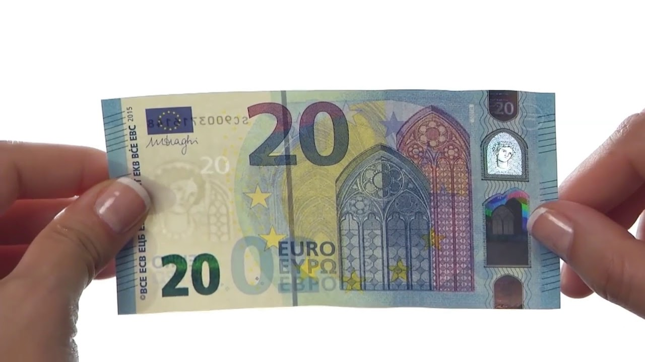 European Union Banknote 20 Euro