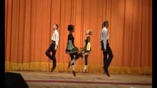 ЮКОН-2008. Ирландские танцы. Концерт закрытия.