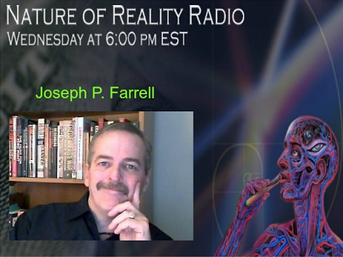 "Dr. Joseph P. Farrell: Alternate Science/History, Conspiracies, & General ""Strange Stuff"""