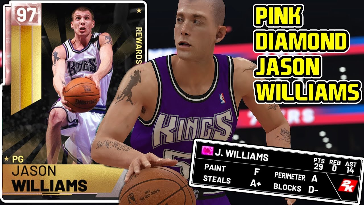 PINK DIAMOND JASON WILLIAMS GAMEPLAY! WAS HE WORTH GOING 12-0 FOR?NBA 2k19  MyTEAM