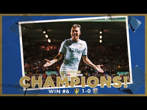 Champions! | Extended highlights | Win #6 Leeds United 1-0 WBA