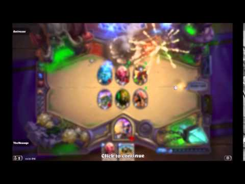 The Message Mangles Hearthstone Ep. 28 - Disguise Brawl