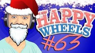 SAAAANTA WHEEEELS  | Happy Wheels - Part 63