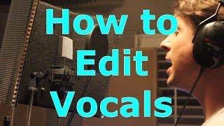 Editing Vocals in Pro Tools - Elastic Audio and Autotune 7