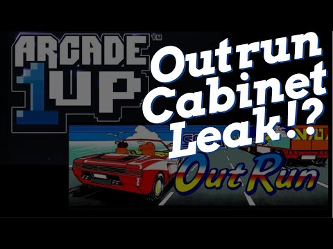 Arcade 1up Outrun Cabinet Leak!? from Basic Reviews by David