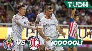 ¡Se empata el partido de último minuto! | Chivas 2 - 2 Toluca | Liga Mx - CL 2020 J-3 | TUDN
