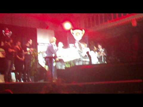 Geronimo Latumeten Wins the  SAE Best Musician Award Grandprize of Holland (cat Singer/Songwriter)