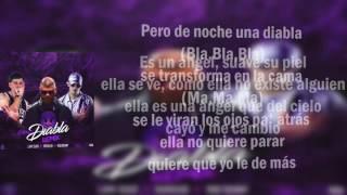 Diabla Remix (Letra) Farruko✘Bad Bunny✘Lary Over