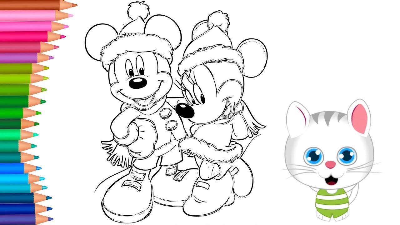 Yilbaşi Mickey Minnie Mouse Boyama Nasıl Yapılır Nasıl çizilir