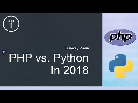 PHP vs Python In 2018