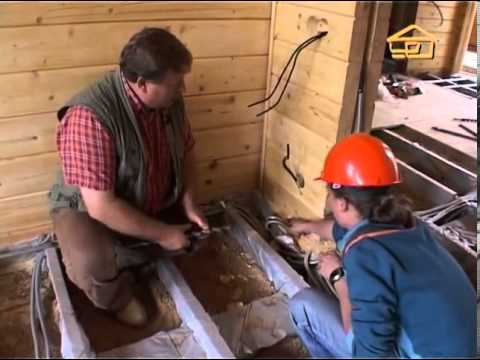 61. Инженерные коммуникации в доме в деревянном доме - Строить не перестроить