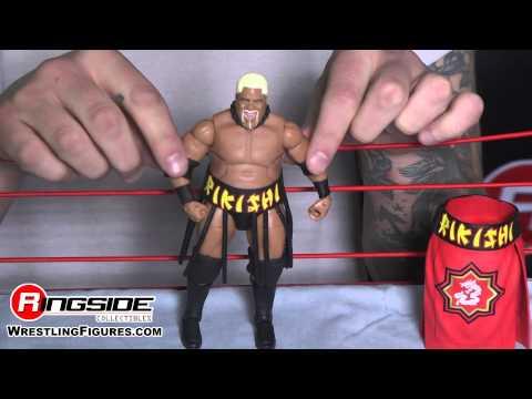 Rikishi Phatu WWE Figure