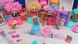 LOL BİGGER Sürpriz Kombin Challenge!! | Maskeli En Güzel Saçlı Lol Bebek Yarışması!! Bidünya Oyuncak