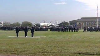 Air Force Basic Military Training Parade 7 Jan 2016