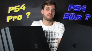 pS4 Pro или PS4 Slim  что выбрать в 2019 году?