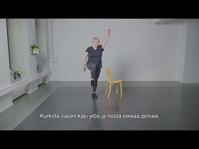 Ikäinstituutti: Keskitasoinen Voitas jumppa 2