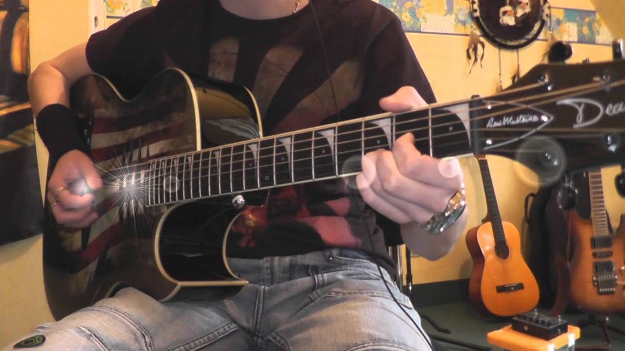 how to play nothing else matters on electric guitar