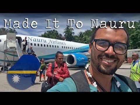 Flying Nauru Airlines | FINALLY Made it to Nauru