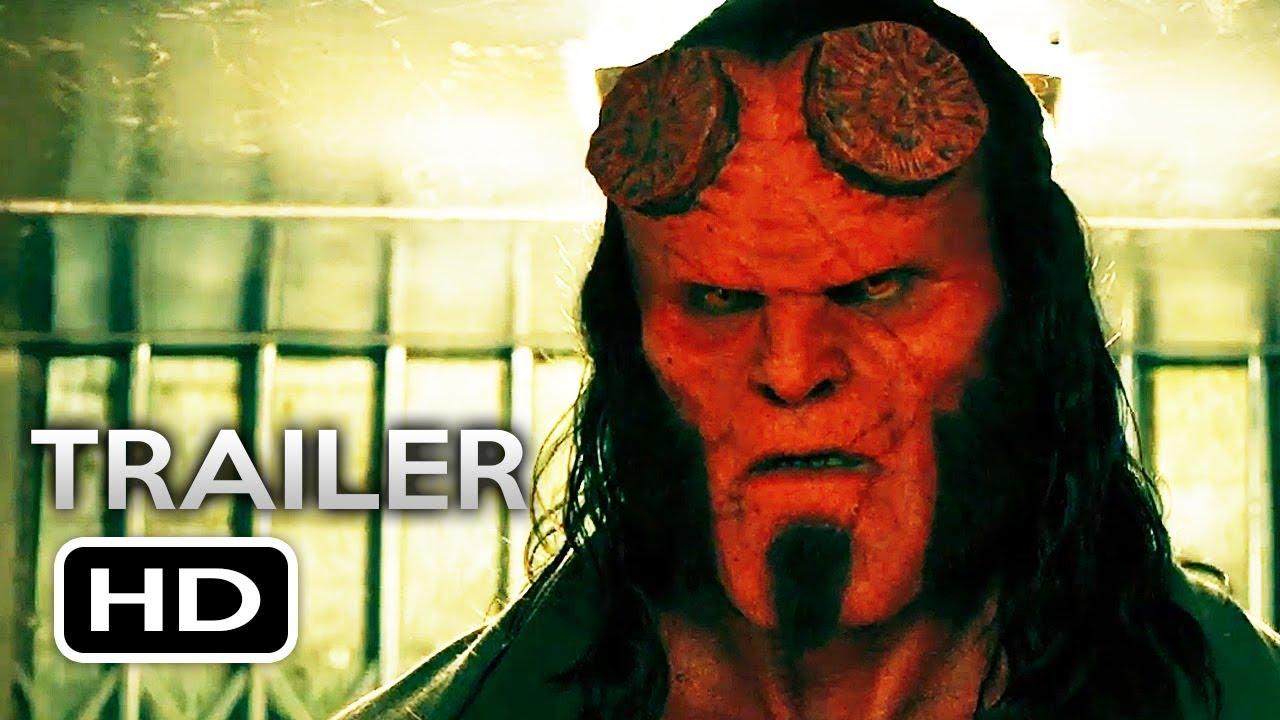 HELLBOY Official Trail... Milla Jovovich Hellboy