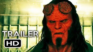 HELLBOY Official Trailer (2019) David Harbour, Milla Jovovich Superhero Movie HD