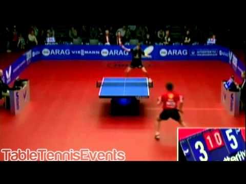 Timo Boll Vs Robert Gardos: 1/2 Final [Champions League 2012/2013]