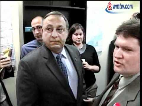 Question Angers GOP Candidate Paul LePage