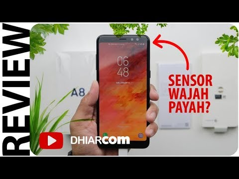 Review Samsung Galaxy A8 (2018) Indonesia, Sensor Wajah Payah?