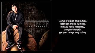Repeat youtube video Abaddon - Ganyan Talaga Ft. Vlync (With Lyrics)