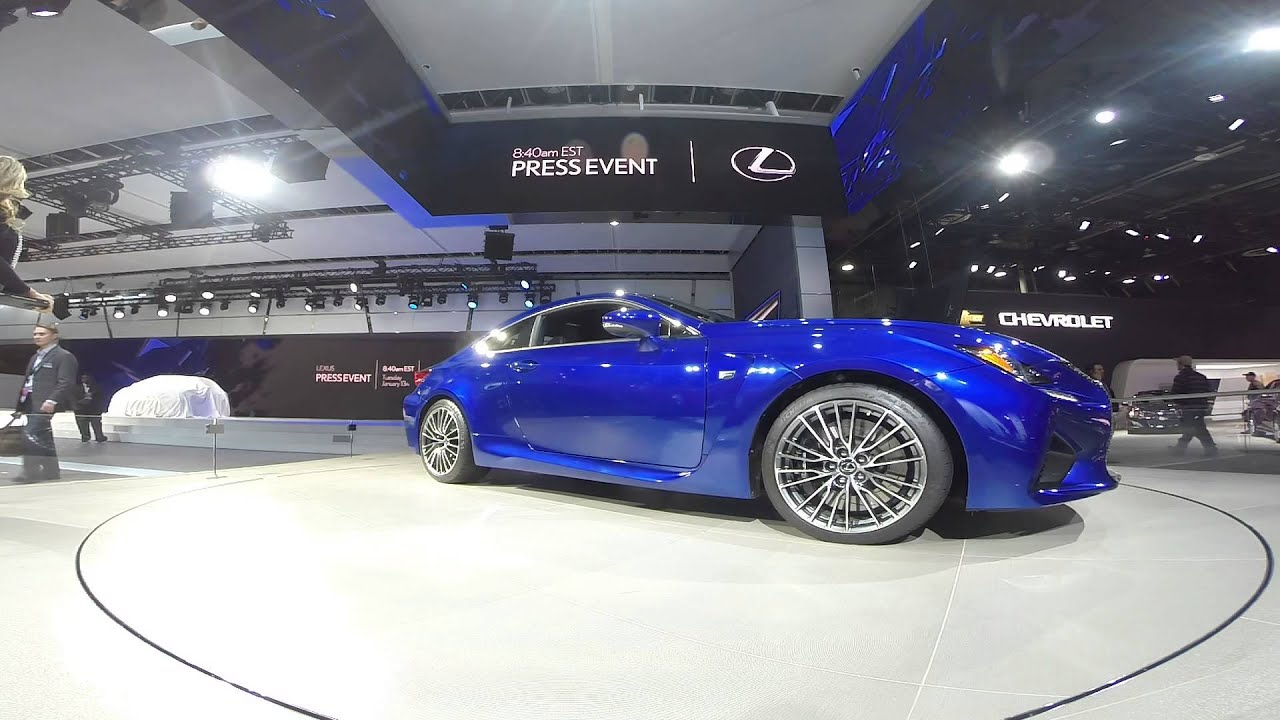 Stand Lexus In NAIAS Detroit YouTube - Car show wheel stands