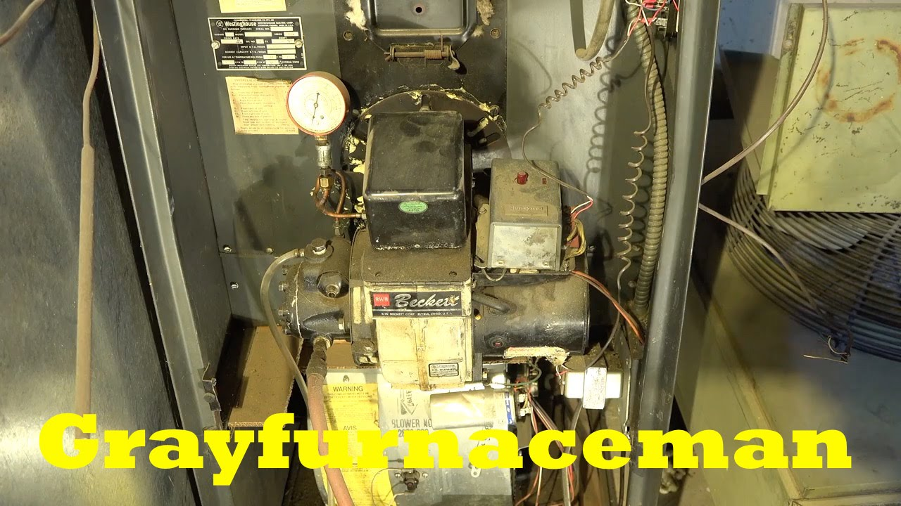 How to replace the the oil furnace transformer. - YouTube