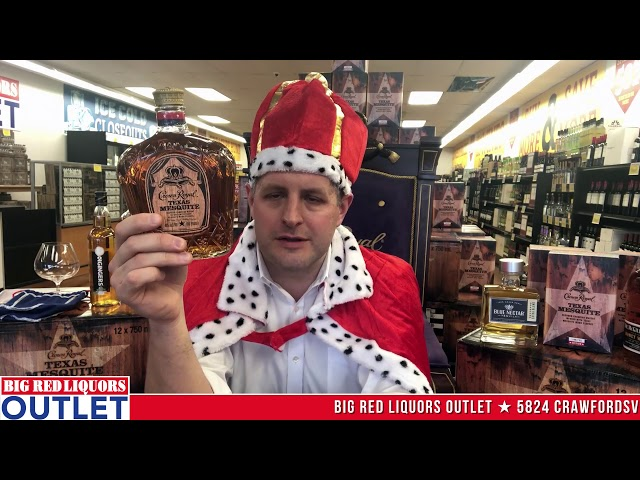 Crown Royal Texas Mesquite at the Big Red Liquors Outlet Store