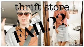 THRIFT WITH ME! || A very odd thrift day...