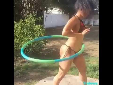 Rihanna Hula Hooping