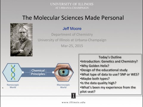 The Molecular Sciences Made Personal