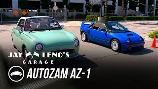 homepage tile video photo for Best Cars of the 90's featuring the 1992 Autozam AZ-1 - Jay Leno's Garage